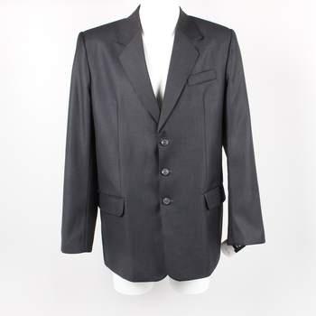 bea5818002 Pánský oblek kalhoty a sako D M černé
