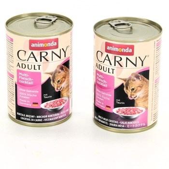 Konzervy pro kočky Animonda taurin 2 kusy