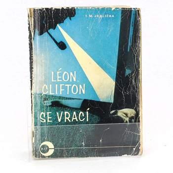Kniha I. M. Jedlička: Léon Clifton se vrací.