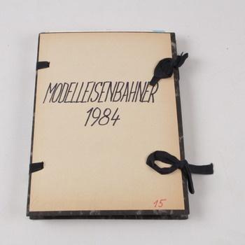 Časopis Modelleisenbahner kompletní rok 1984