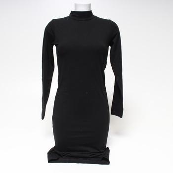 Dámské úpletové šaty Urban Classics černé M