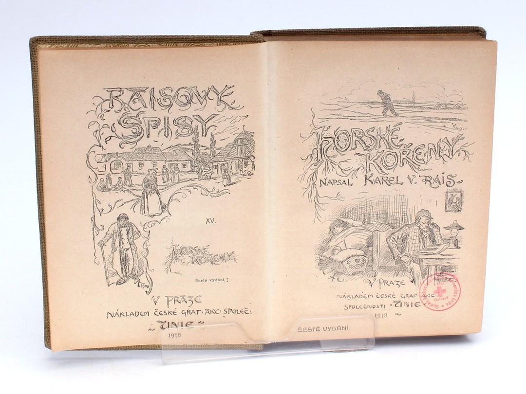 Kniha Raisovy spisy Karel V. Rais