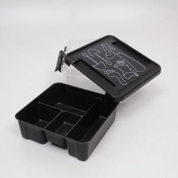 Plastový box Tescoma s víkem dělený