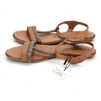 Dámská letní obuv Tamaris hnědé