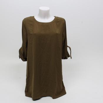 Dámské letní šaty Yoins odstín zelené