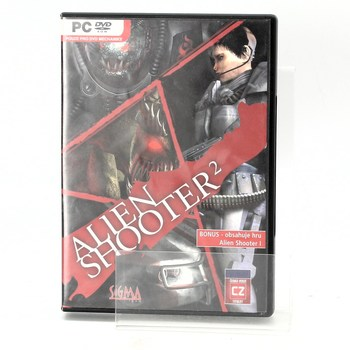 Herní DVD: Alien shooter 2