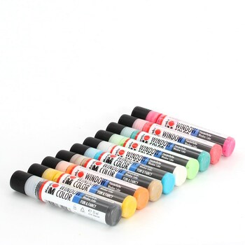 Barvy na sklo Marabu 406000000126 10 x 25 ml