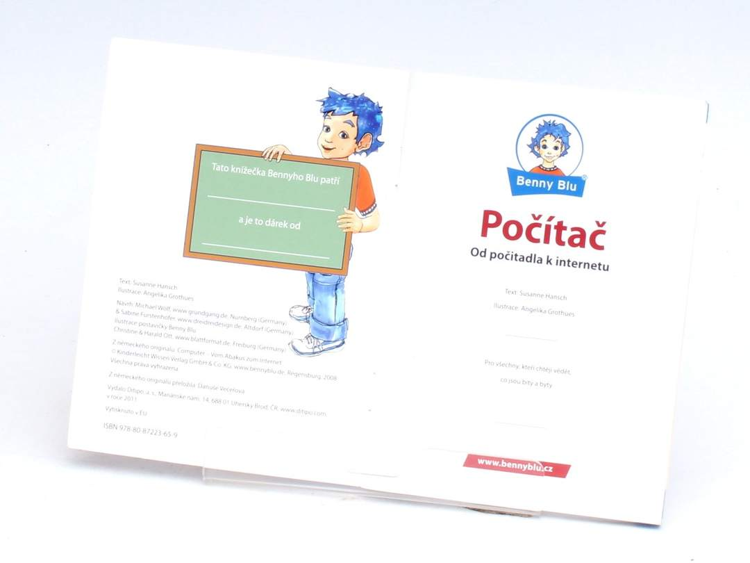 Brožura Počítač  Sussane Hansch
