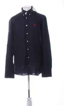 Pánská košile U.S. Polo Assn. tm. modrá XXL