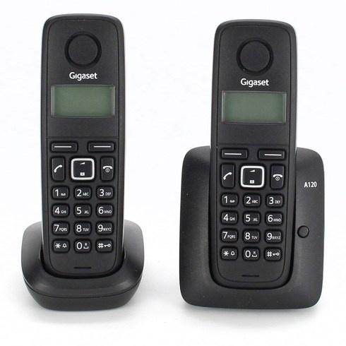 Bezdrátový telefon Siemens Gigaset A120 Duo