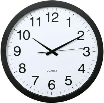 Analogové nástěnné hodiny Hama XXL