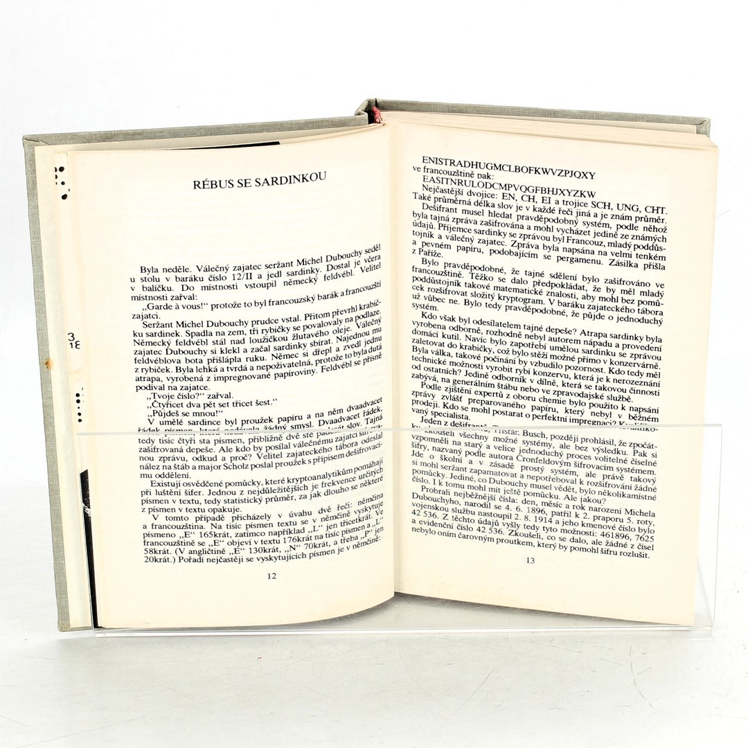Kniha Václav Pavel Borovička: Přísně tajné šifry