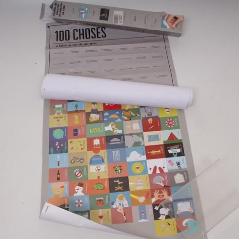 Naučné kartičky DOIY 100 choses papír