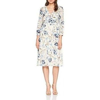 Dámské šaty Esprit bílé s květinami 42