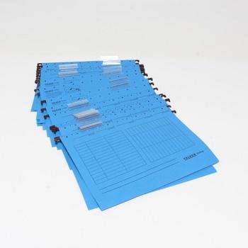 Papírový pořadač Falken modrý