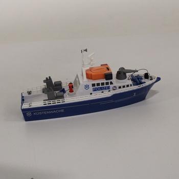 Policejní člun Siku 5401 svítící
