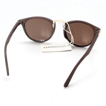 Sluneční brýle Style Breaker 09020083 hnědé