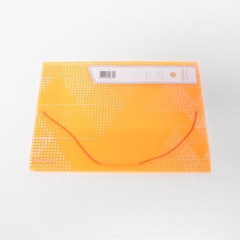 Desky na dokumenty NEON A4 PP oranžové