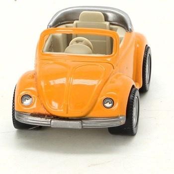 Autíčko Volkswagen Brouk žlutý
