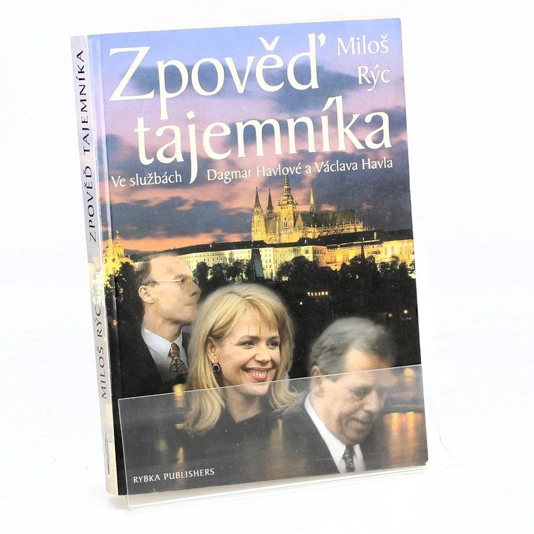 Kniha Zpověď tajemníka