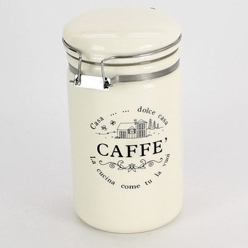 Dóza na kávu careslong porcelánová