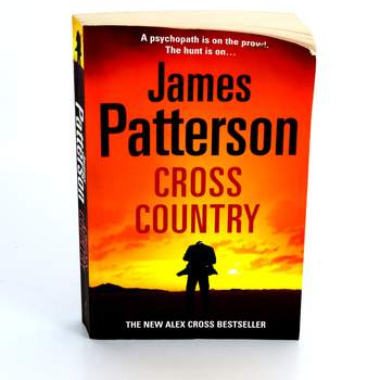 Kniha Cross country James Patterson