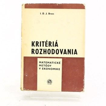 Kniha Kritériá rozhodovania