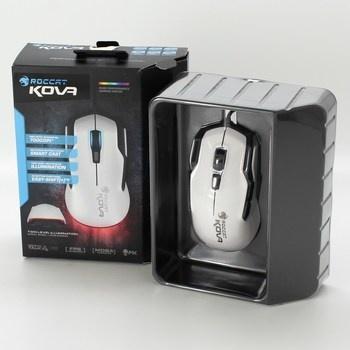 Optická myš Roccat Kova bílá