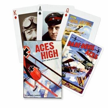 Karty Piatnik Letecká esa 1. světové války