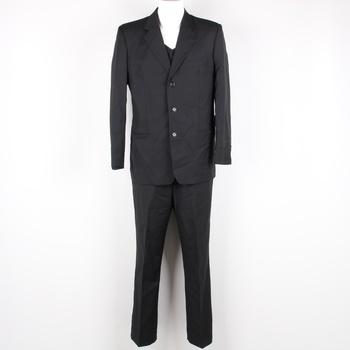 d0b450eca7 Pánský oblek s vestou Sunset Suits černý