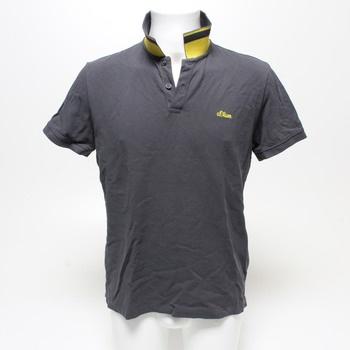 Pánské polo tričko s.Oliver modré L