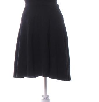 Dámská sukně Ann Christine na kolena černá