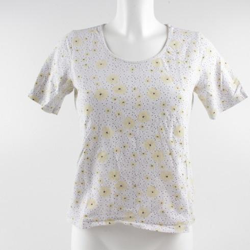 d641bf536580 Dámské tričko Esmara se žlutými květy - bazar