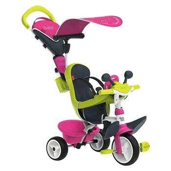 Dětská tříkolka Smoby 3v1 růžová 741201