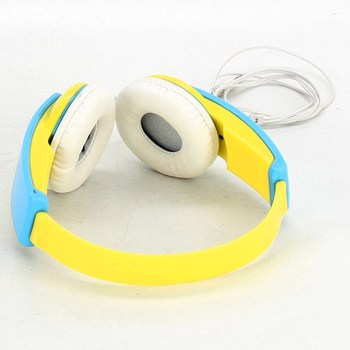 Sluchátka na uši JVC HAKD5Y žlutomodrá