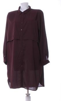 Dámské košilové šaty Atmosphere fialové