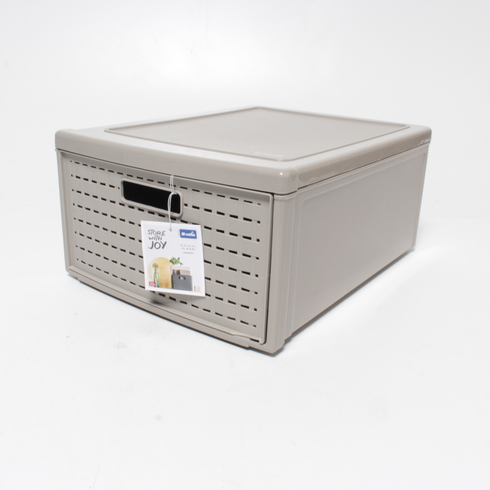 Plastový box Rotho Country béžový