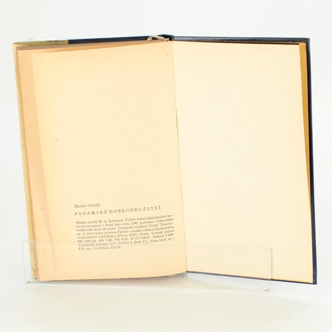 Kniha Panamské dobrodružství