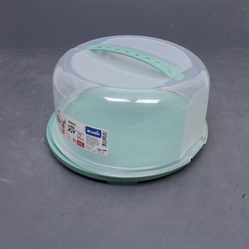 Plastový box na dort Rotho zelený
