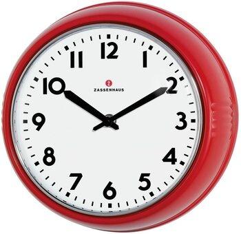 Nástěnné hodiny 72723 Retro, červená