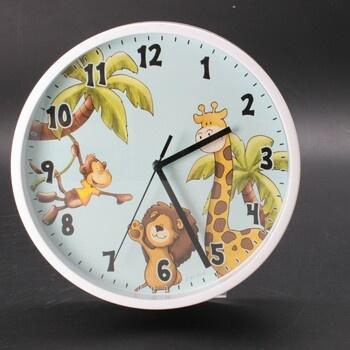 Dětské nástěnné hodiny Hama 00186378