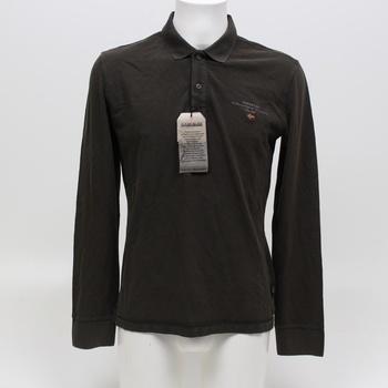 Pánská khaki polokošile Napapijri