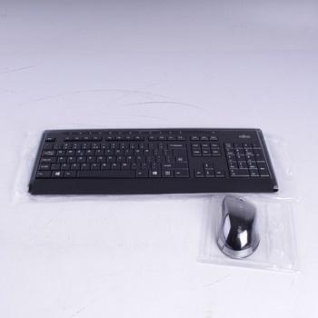 Set klávesnice a myši Fujitsu LX901