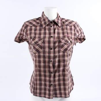 Výprodej. Dámská košile Tom Tailor hnědobéžová 7483029442