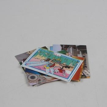 Sada různých pohlednic 12 ks