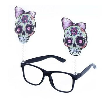 Brýle lebky, Čarodějnice / Halloween