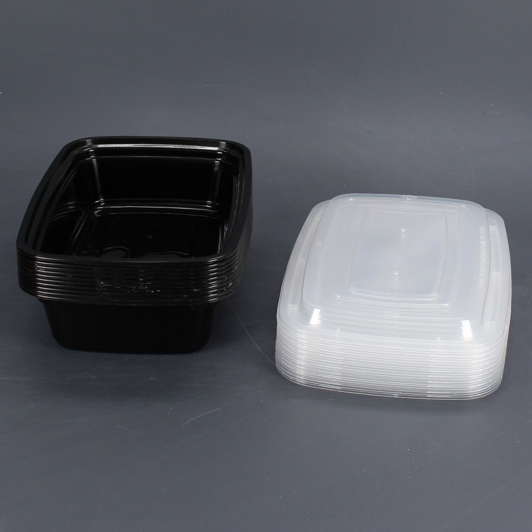 10-ti dílná sada plastových misek