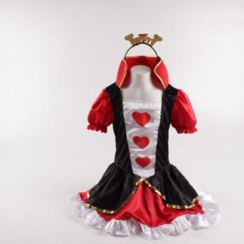 Dámský kostým Boland - Srdcová královna