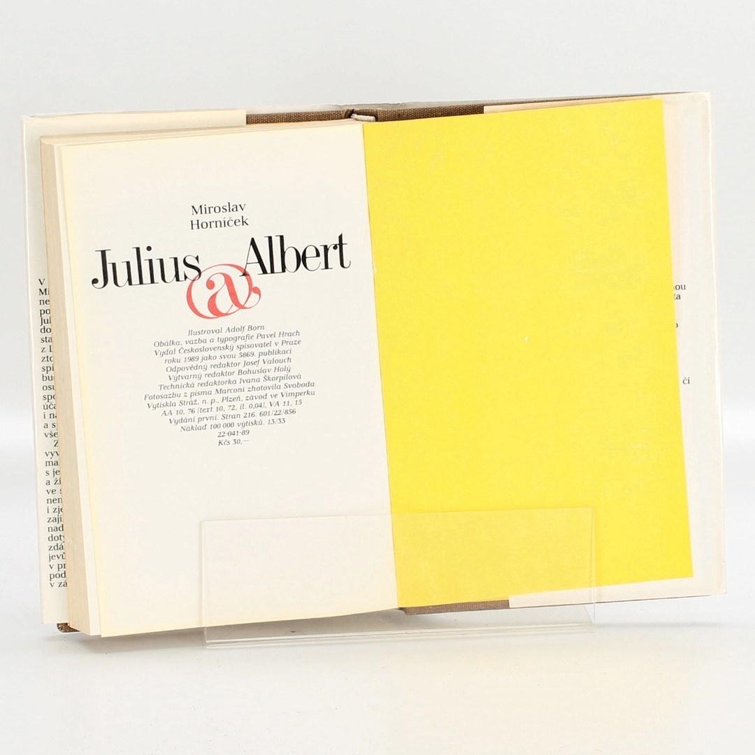 Kniha Julius @ Albert  M. Horníček