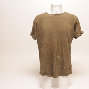 Pánské tričko Urban Classics hnědé